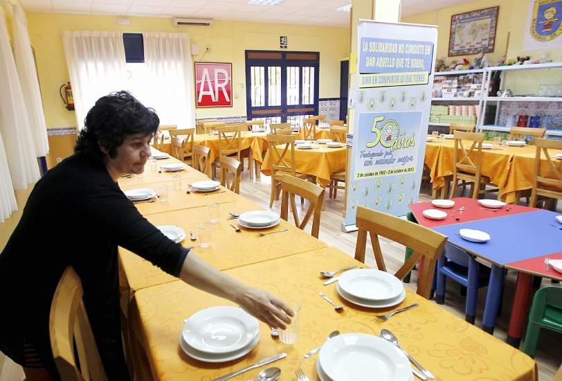 Comedores Sociales Madrid   La Pobreza Deja Mas Ninos En Manos Del Estado Y Llena Los