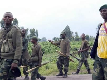 M-23, fuerzas rebeldes del Congo