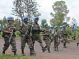 Cascos azules en el Congo