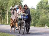 Desplazados en el Congo