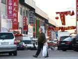 Un pol�gono industrial chino en Madrid
