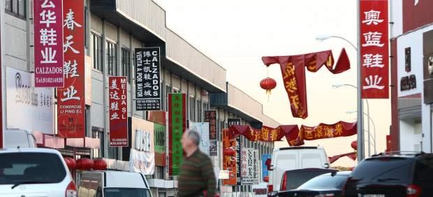 Un polígono industrial chino en Madrid