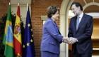 Rajoy recibe a la presidenta de Brasil