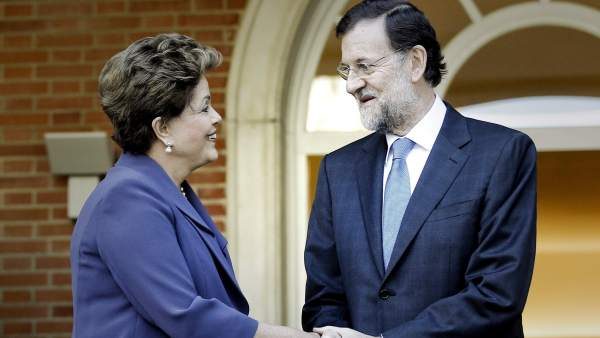 Mariano Rajoy y Dilma Rousseff