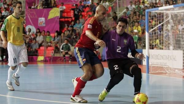 España - Brasil fútbol sala