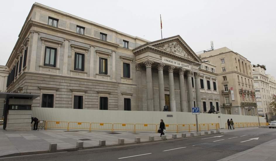 El congreso est otra vez 39 rodeado 39 ahora por las obras for Pagina del banco exterior