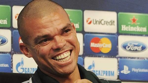 Pepe, del Real Madrid