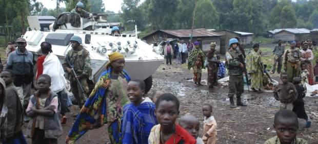 Refugiados en el Congo