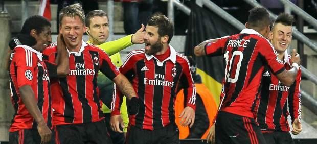 Gol de Mexes con el Milan