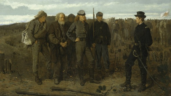 Winslow Homer, Prisoners from the Front, 1866