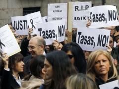 Jueces y fiscales llaman a participar este martes en una inédita huelga conjunta