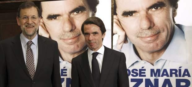 Jos� Mar�a Aznar y Mariano Rajoy