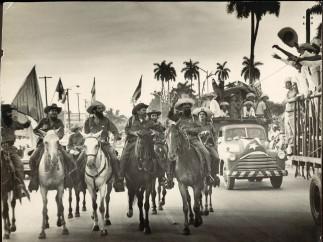 Camilo beim Einzug in Havanna, 8 de enero de1959
