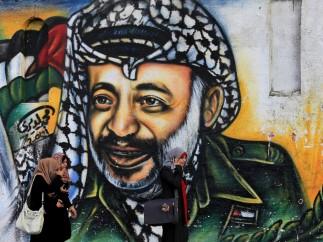Mural de Yaser Arafat