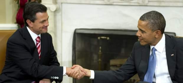 Obama y Pe�a Nieto