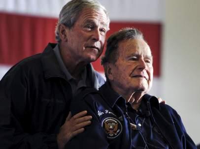 George Bush padre e hijo