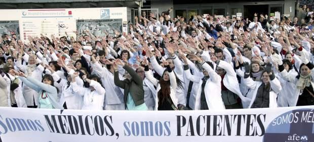 Protestas en Sanidad