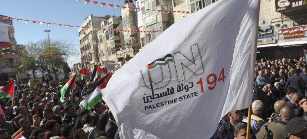 Marcha en Gaza
