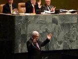 Mahmud Abás en la ONU