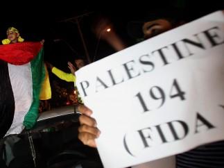 Fiesta en las calles de Gaza