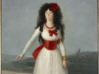 'La Duquesa de Alba de blanco'