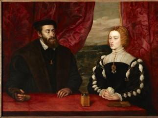 ' Carlos V y la emperatriz Isabel', de Tiziano