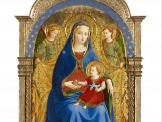 'La Virgen de Granada', de Fran Angélico