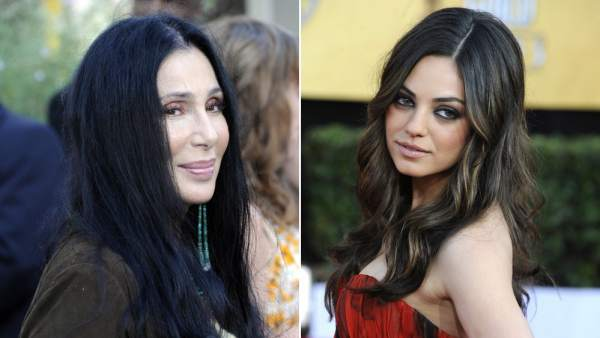 Cher y Mila Kunis