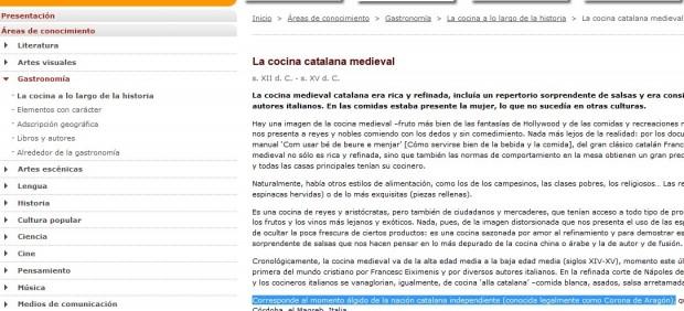 Corona de Aragón, ¿o nación catalana?