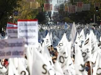 Una marcha multitudinaria