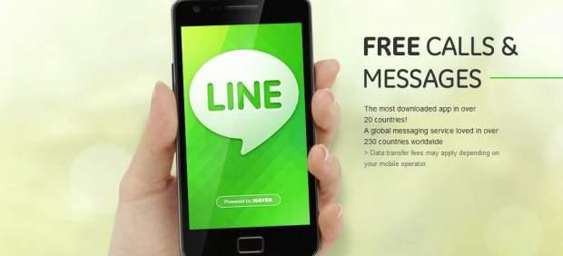 Line, el gran rival de Whatsapp, supera los 80 millones de usuarios en todo el mundo