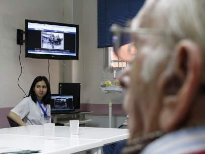 Terapia centro de día de enfermos de alzhéimer