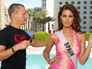 Preparativos para Miss Universo