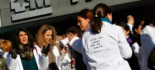 Huelga en la sanidad madrile�a