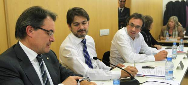Oriol Pujol y Artur Mas