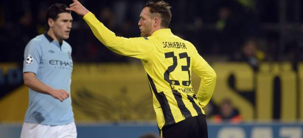 Gol del Dortmund al City