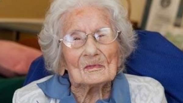 Besse Cooper, en su 116 cumpleaños