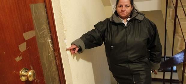 M� Carmen Escudero, vecina de San Crist�bal