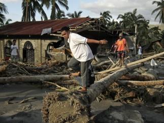 Zonas embarradas al sur de Filipinas