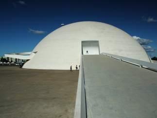 Museo Nacional de Brasilia, obra de Óscar Niemeyer
