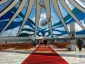 Catedral de Brasilia, de Óscar Niemeyer