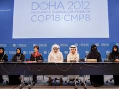 Cumbre del clima en Doha