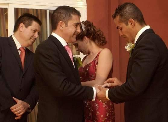 Fotos del matrimonio gay