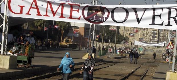 Tensi�n de Egipto