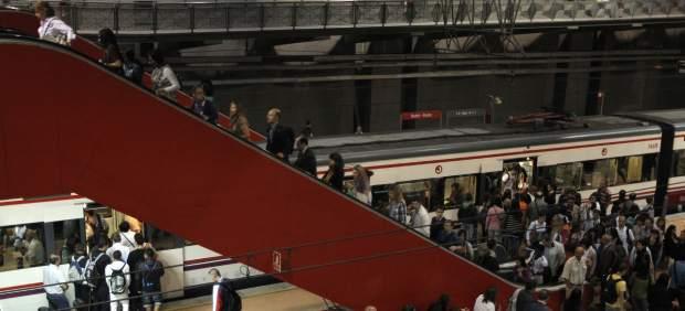 Huelga de trenes