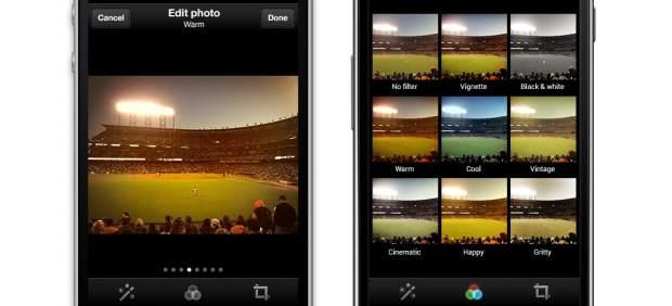 Twitter incorpora filtros para fotografías e Instagram actualiza su interfaz y funciones