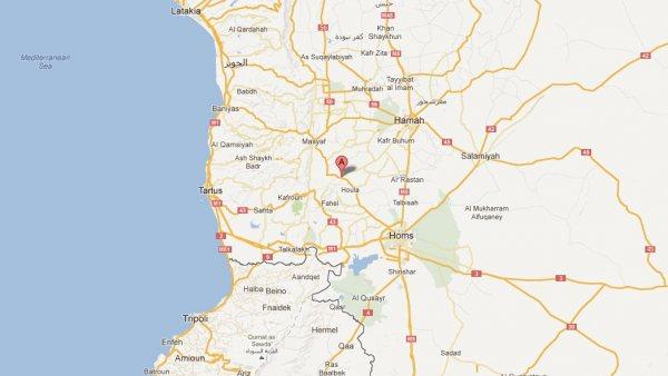 Aqrab, en Siria