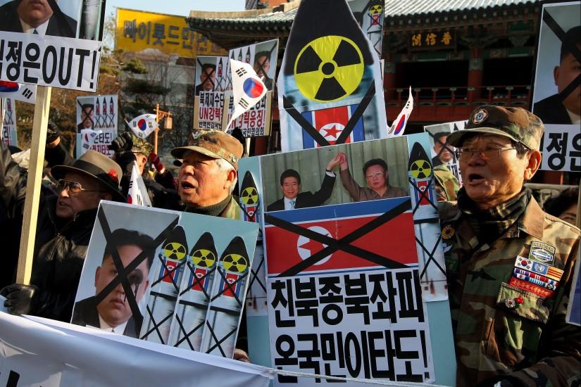 Tensión entre las dos Coreas