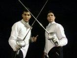 Pereira (izqda) y Sánchez