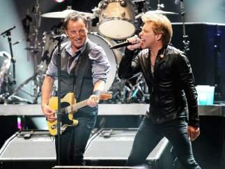 Bruce Springsteen y Bon Jovi